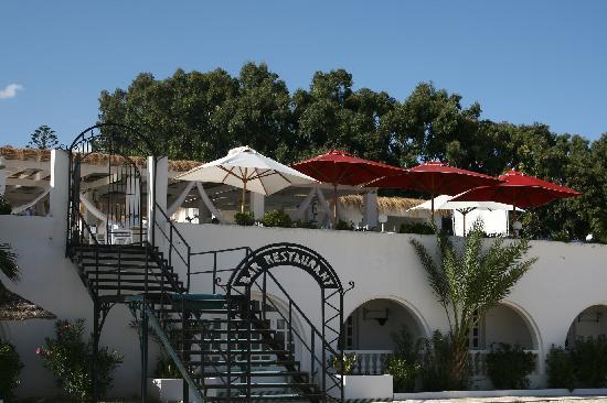 Hotel Movie Gate: bar a la playa