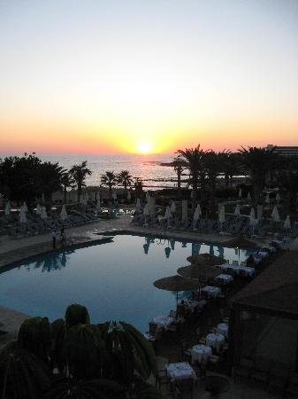 Louis Ledra Beach: Sunset view from our Room