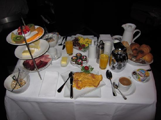Breakfast At The Hotel Picture Of The Hotel Lucerne Autograph