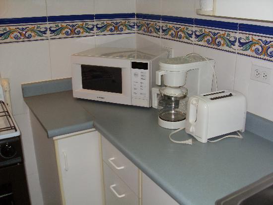 Sevilla Suites Apart-Hotel: Cocina