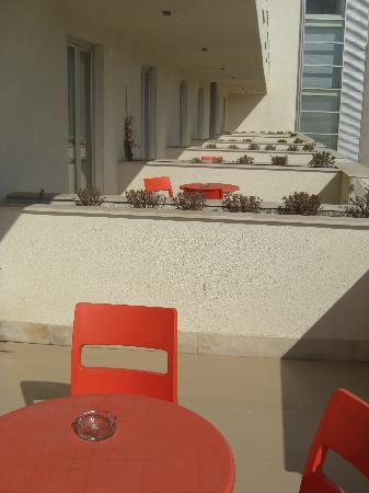 Torre Faro, Italien: Balkone ohne Seperation