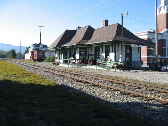 White Mountains, NH: Gorham Railway Station, NH