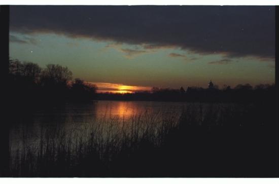 Neuer Garten: Daily View. Heiliger See, Marmorpalais, Potsdam