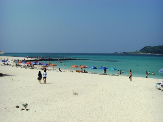 Jeju Island South Korea Hyeopjae Beach