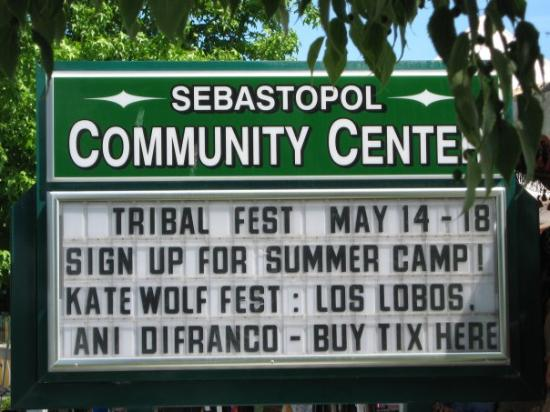 Sebastopol, Californië: Tribal Fest!!!