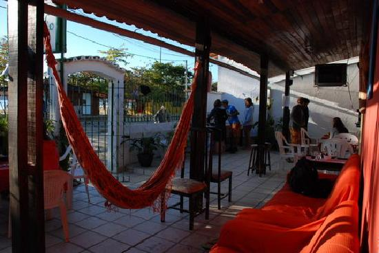 Geko Hostel Paraty: Hostels Paraty chill-out area