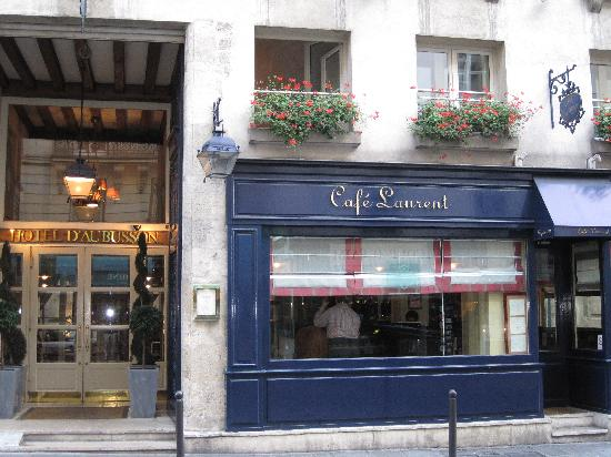 Hotel d'Aubusson: Cafe Laurent