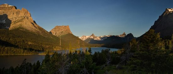 Glacier Nationalpark, MT: Sunrise