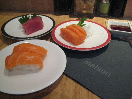 Matsuri Passy : Tuna and salmon