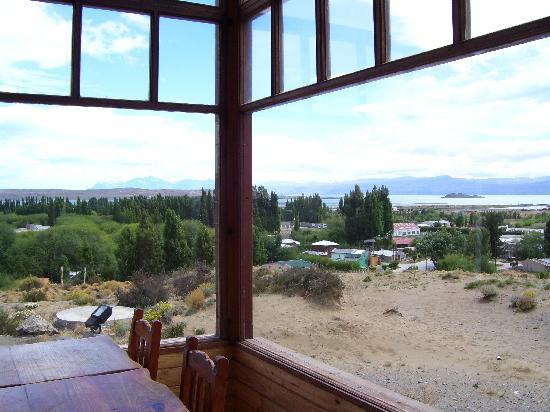 America del Sur Hostel: Vista del Lago Argentino