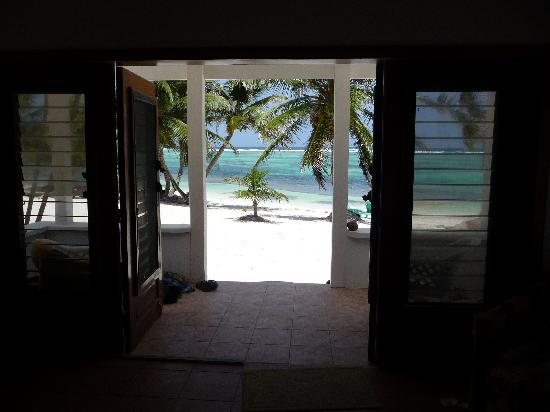 Tranquility Bay Resort: View from our Cabana doors