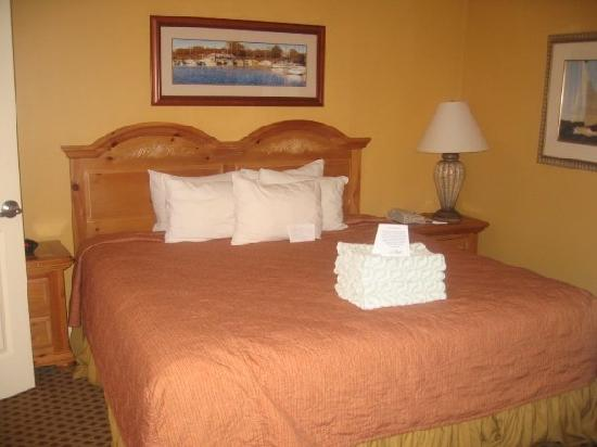 Turtle Cay Resort: Spacious and clean bedroom