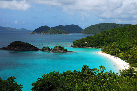 Virgin Islands National Park, Σεν Τζον: Trunk Bay