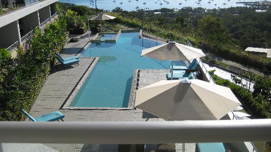 Searene Whitsundays: The pool area.