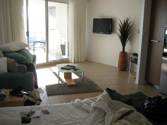 Searene Whitsundays: Beautiful room, again mess is my fault not Searene's