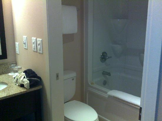 Delta Guelph Hotel and Conference Centre : washroom