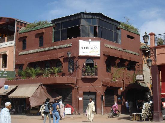 Le Marrakchi: Fachada