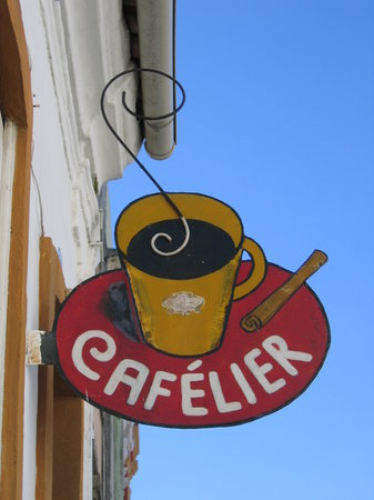 Cafelier : Look for this sign