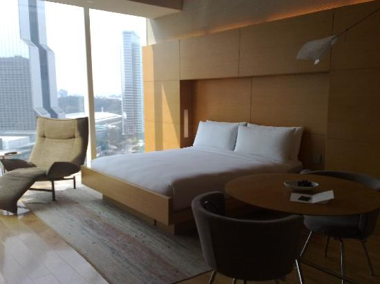 Park Hyatt Seoul: View from the room window (18th floor)