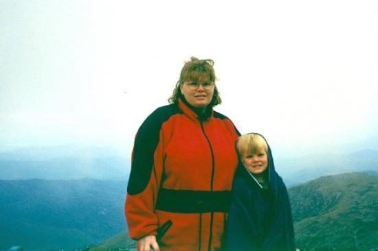 Mount Washington Valley: Jenny and Zac.. Mount Washington, New Hampshire, September 1998