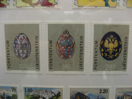 Liechtenstein : 切手
