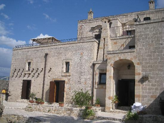 Masseria Bosco: The main buiding