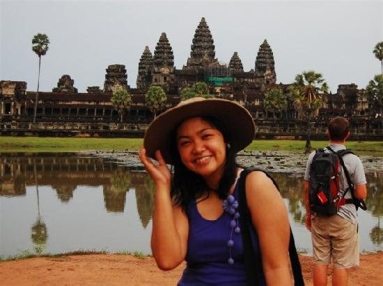 Siem Reap, Cambodia: Me at the Angkor Wat