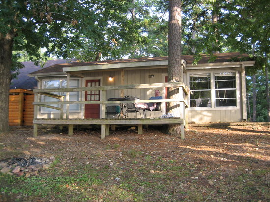 Royal, AR: Our cabin and deck