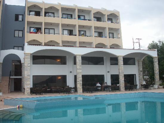 Karpathos Town (Pigadia), Grèce : Electra beach Hotel