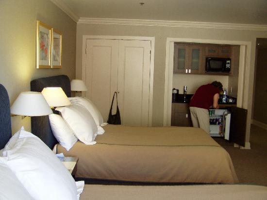 Inn at the Market: huge closet, armoire and kitchenette