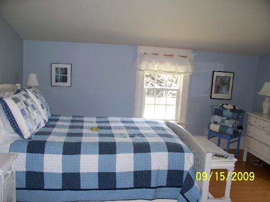 Big Mill Bed and Breakfast: Packhouse Suite - Bedroom