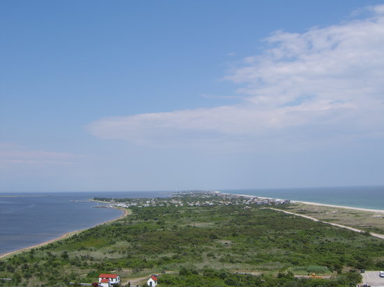 Long Island, État de New York : View from the Fire Island lighthouse by www.discoverlongisland.com