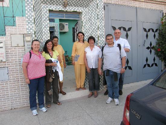 Inezgane, Maroc : my whole family, Aicha and Radija