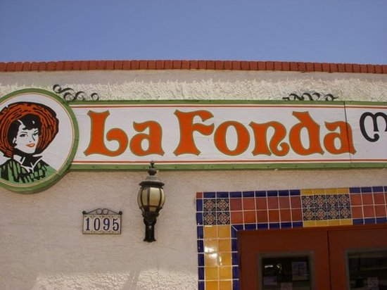 La Fonda Tortilla Factory: front of La Fonda