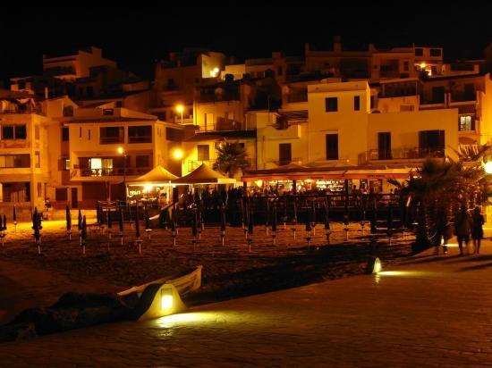 Hotel Admeto: Selinunte - Lido Tuke/Pier by Night