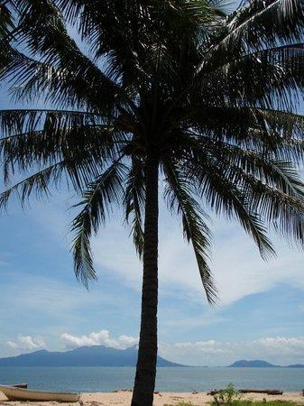 Kuching, Maleisië: Kitschbild auf Satang Island.