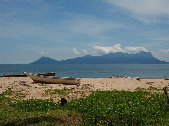 Κουτσίνγκ, Μαλαισία: Kitschbild auf Satang Island III