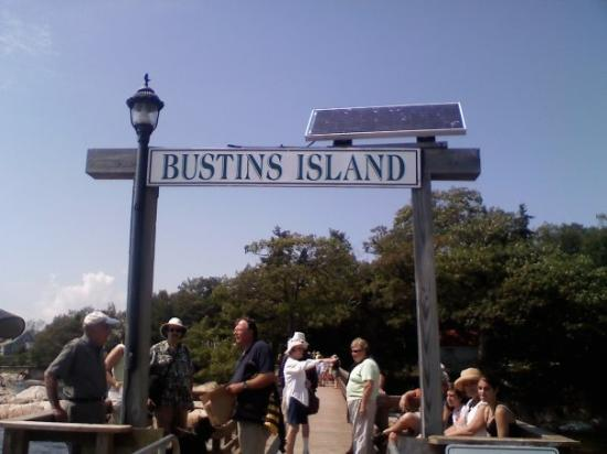 Bustins Island, ME: Welcome to Bustin's!