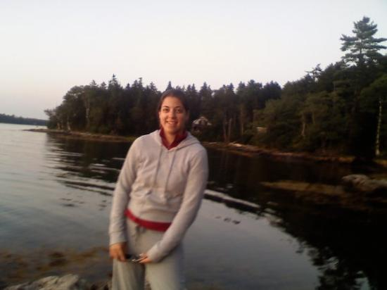 Bustins Island, ME: at the cove