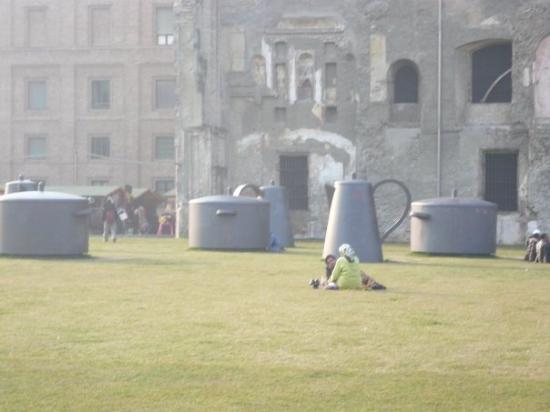 Parma, Italy: teacups inthe park