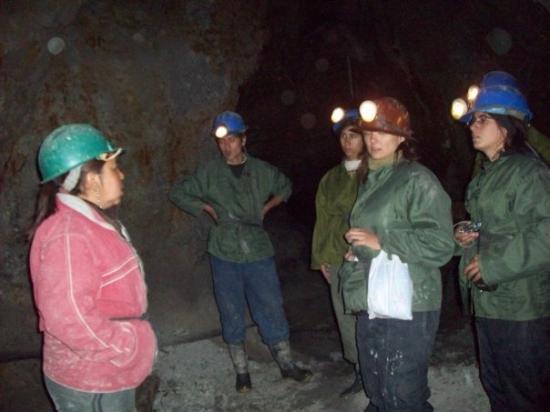 Cerro Rico: adentro de la mina