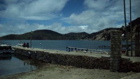 Isla del Sol, โบลิเวีย: llegamos a la Isal del Sol parte Norte