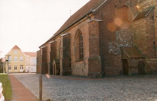 Toender, เดนมาร์ก: Tondern, Daenemark, Maerz 2002 Christkirche