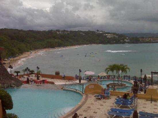 Sosua Beach: Vista de la playa de Sosua