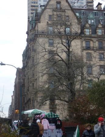 The Dakota: Dakota Apartments.. John & Yoko lived on the top floor.. she still lives there..