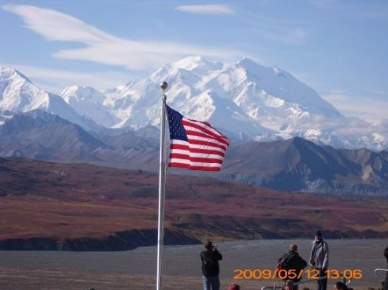 Mount McKinley / Denali, the highest peak in North America, 20,320 feet