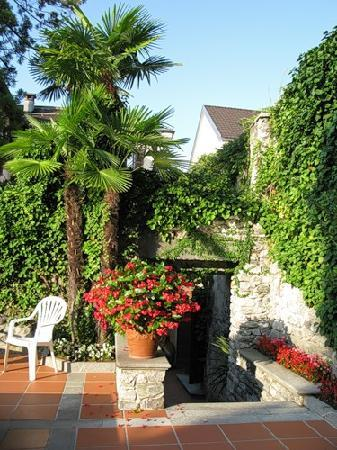 Romantik Hotel Castello Seeschloss : Hotel garden