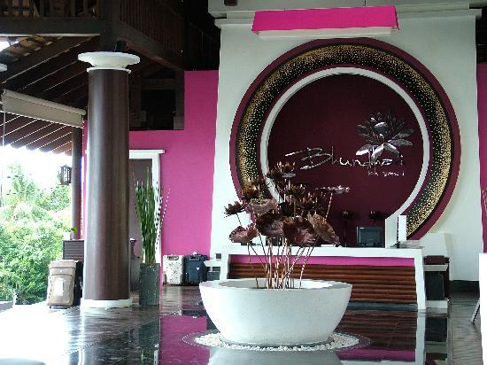 Bhundhari Spa Resort & Villas Samui: Reception Lobby