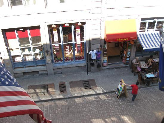 Auberge du Vieux-Port: View from one of the windows