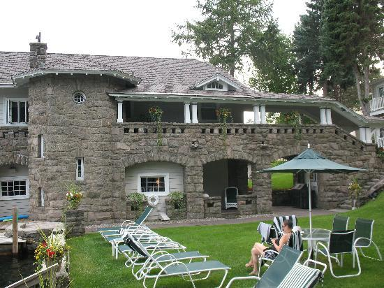 Boathouse Bed and Breakfast A Lake Castle Estate on Lake George: The Inn
